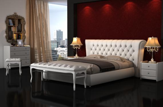 спальня, кровать Людвиг