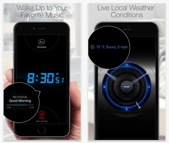 приложение go clock