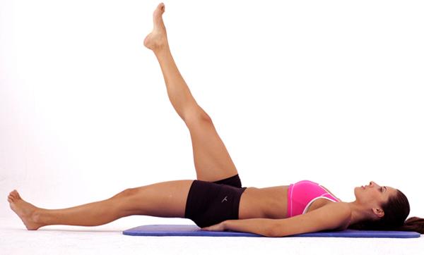 упражнение №14 Махи на спине