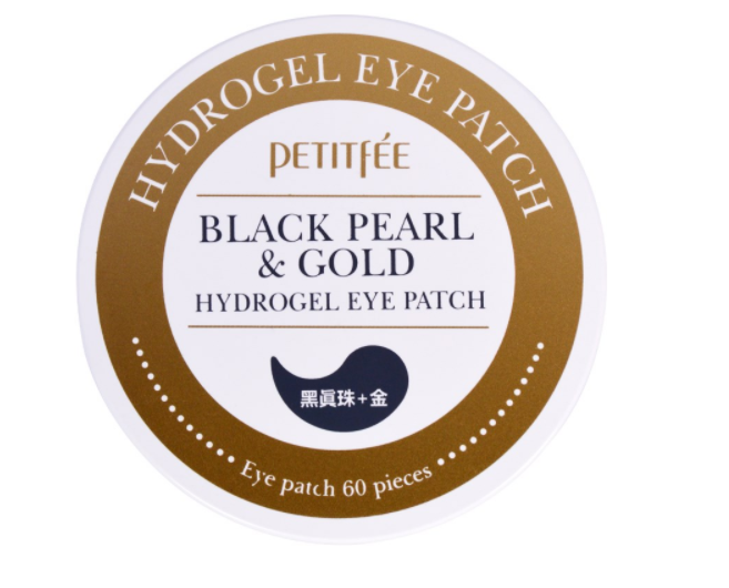 Патчи Petitfee Black Pearl and Gold Hydrogel Eye Patch
