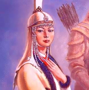 Оэлун, мать и советница Чингисхана