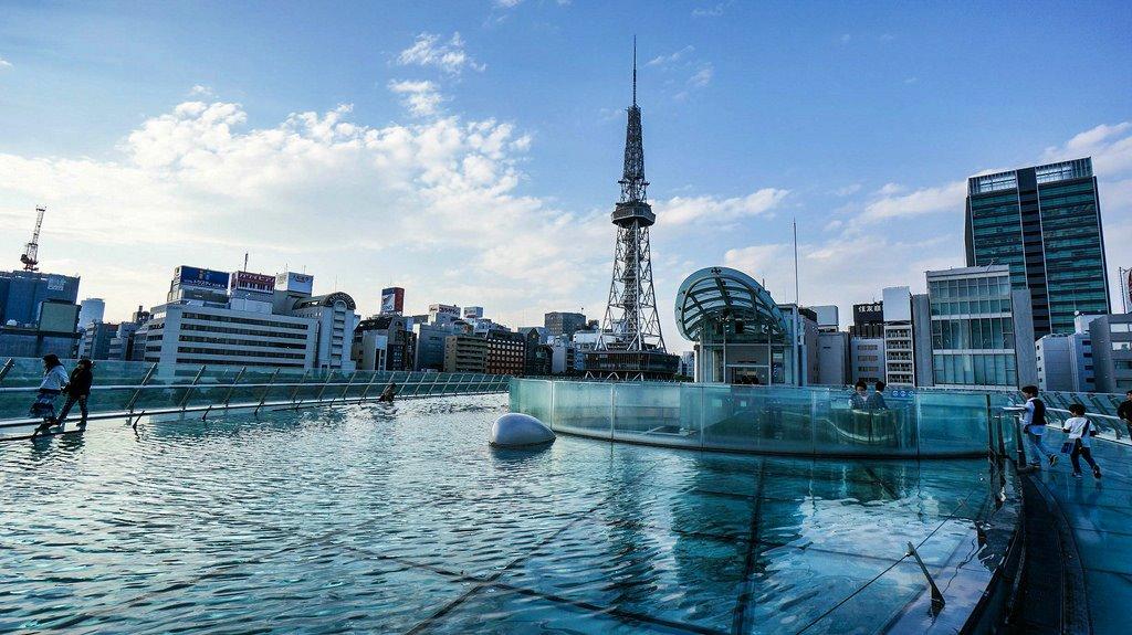 Телевизионная башня Нагоя