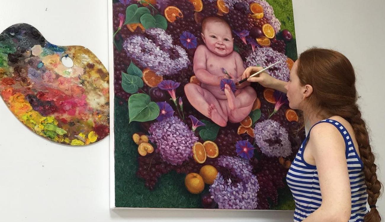 Работы латиноамериканской художницы