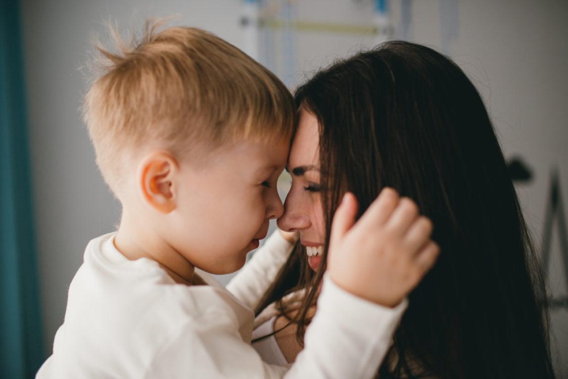 Алёна Муренцова с сыном