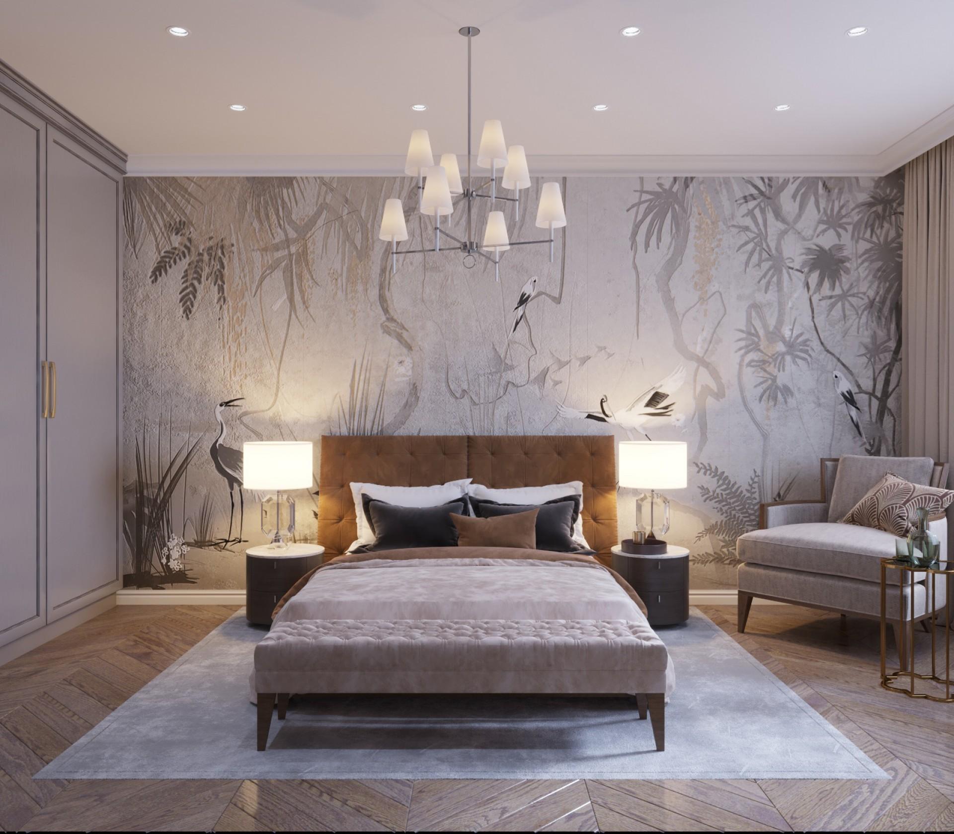6 трендов в дизайне спальни 2019 года